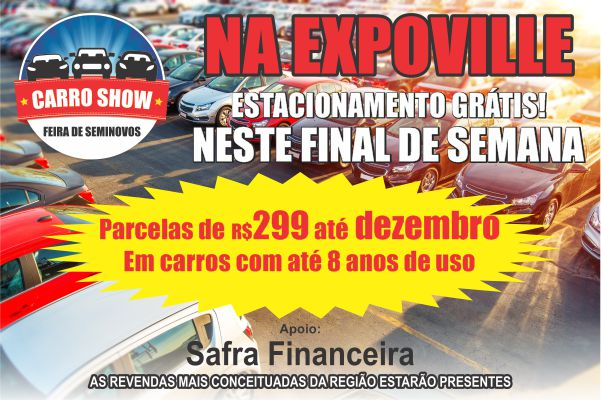 Banner Carro Show fly