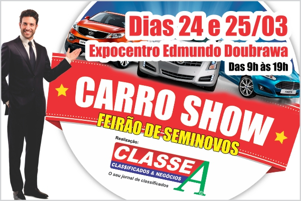 Banner CARRO SHOW 20/03/18