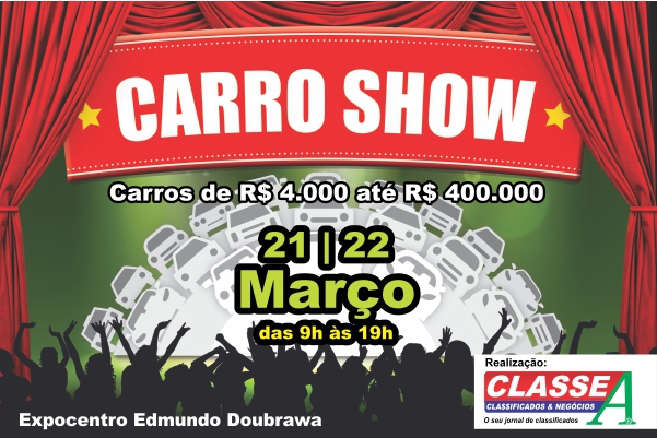 Banner Carro Show 02/03/2015