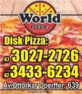 Banner World Pizzas - Edy Lanchonete